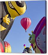 Bug Balloons Waiting To Fly Canvas Print