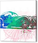 Bugatti Atlantic Watercolor 1 Canvas Print