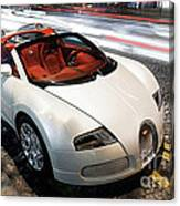 Bugatti Is Art In Motion  Canvas Print