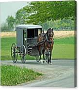 Buggy Ride Canvas Print