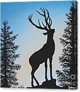 Bugle At Dawn Canvas Print