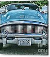 Buick Grills-hdr Canvas Print