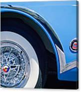 Buick Skylard Wheel Emblem Canvas Print