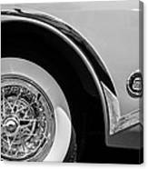 Buick Skylark Wheel Emblem Canvas Print