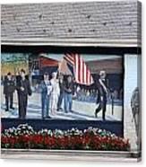 Building Art Huntington New York Canvas Print