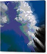 Building Cumulus Abstract Canvas Print
