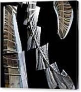 Building Desending A Staircase - 200050 Canvas Print
