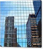 Building With In A Building Canvas Print