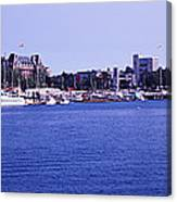 Buildings At The Waterfront, Inner Canvas Print