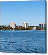 Buildings At The Waterfront, Kempenfelt Canvas Print
