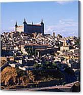 Buildings In A City, Toledo, Toledo Canvas Print