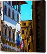 Buildings In Florence Italy Canvas Print
