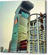 Buildings In Shanghai Canvas Print
