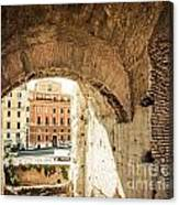 Buildings Of Rome V Canvas Print
