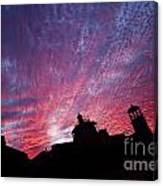 Builings In The Sky Canvas Print