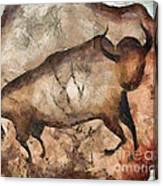 bull a la Altamira Canvas Print