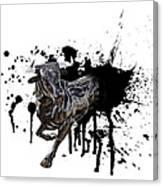 Bull Breakout Canvas Print