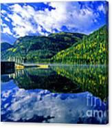Bull Lake In Fall Canvas Print