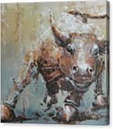Bull Market Y Canvas Print