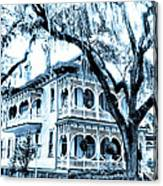 Bull Street House Savannah Ga Canvas Print