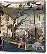 Bullocks Museum, 22 Piccadilly, London Canvas Print