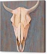 Bullskull No.3 Canvas Print