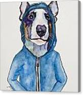 Bully For The Hoodie Canvas Print