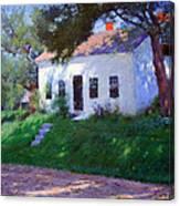 Bunker's Roadside Cottage Canvas Print