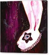 Bunny Rebellion  Canvas Print