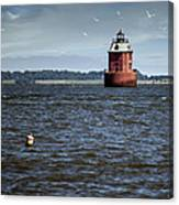 Buoy What A Lighthouse Canvas Print