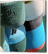 Buoys Tied Up Canvas Print