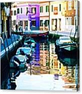 Burano 2 Canvas Print