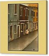 Burano Italy   No 20 Canvas Print