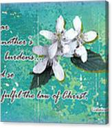 Burden Bearers Canvas Print