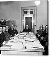 Bureau Of Navigation Meeting Canvas Print