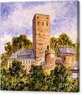 Burg Blankenstein Hattingen Germany Canvas Print