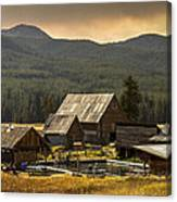 Burgdorf Hot Springs In Idaho Canvas Print