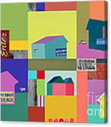 Burger Joint #1 Canvas Print