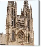 Burgos Cathedral Spain Canvas Print