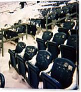 Buried Gillette Stadium Seats Canvas Print