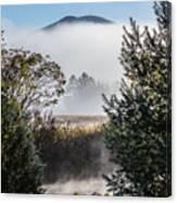 Burke Above The Fog Canvas Print