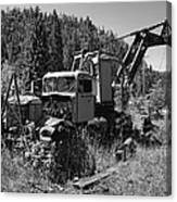 Burke Idaho Logging Truck 2 Canvas Print