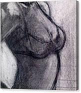 Burlesque 002 Canvas Print