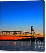 Burlington Bristol Bridge Canvas Print