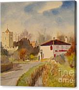 Burmarsh  Kent Uk Canvas Print