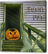 Burned Out - Halloween Canvas Print