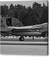 Burnin' F-15c Eagle  Canvas Print