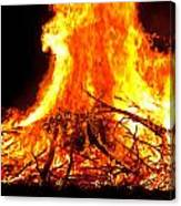 Burning Branches Canvas Print