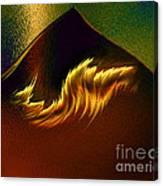 Burning Winds Across The Sahara  Canvas Print