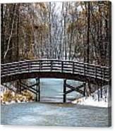 Burnsville Bridge Canvas Print